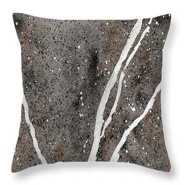 Granite Natural Throw Pillow