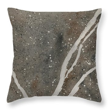 Granite Transformed Throw Pillow