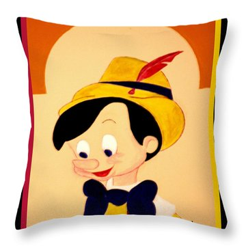 Grant My Wish - Please Throw Pillow