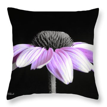 Grape Mist Throw Pillow