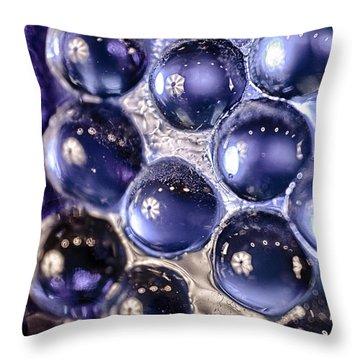 Grapes Of Glass Throw Pillow by Omaste Witkowski