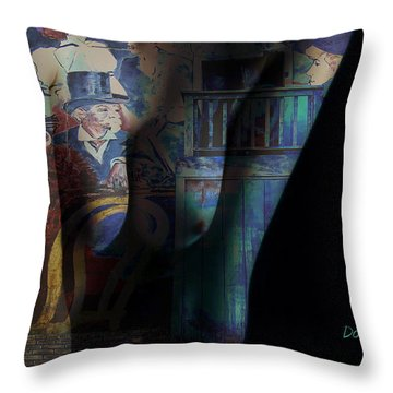 Graphic Artist Throw Pillow