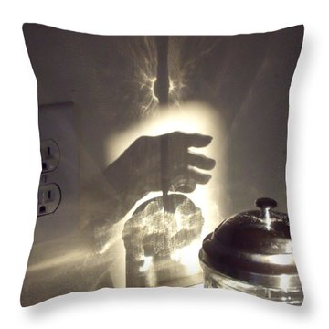 Grasping At Straws Throw Pillow