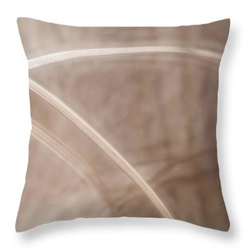 Grass - Abstract 2 Throw Pillow