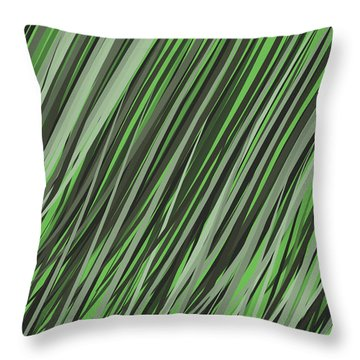 Grasslands V1 Throw Pillow