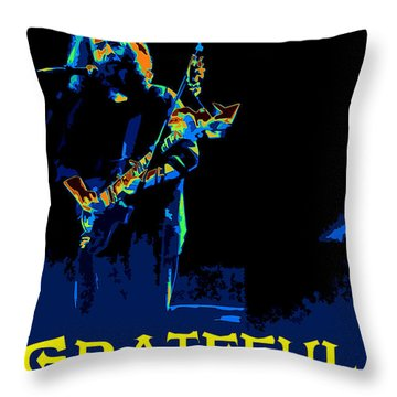 Grateful Dead - In Concert Throw Pillow