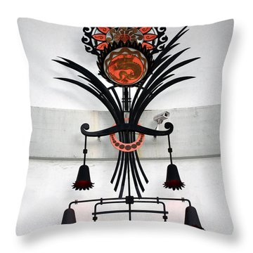 Grauman's Art Throw Pillow