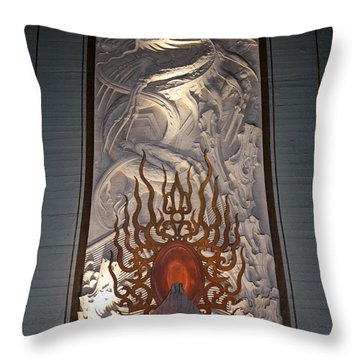 Grauman's Artwork Throw Pillow