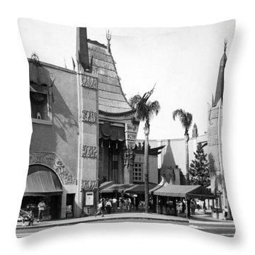 Grauman's Chinese Theater Throw Pillow