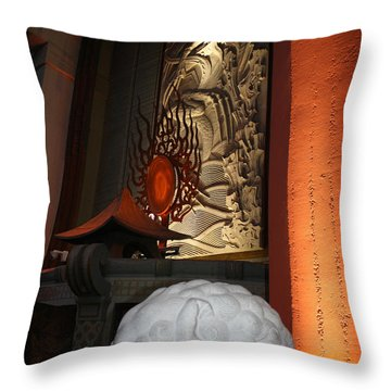 Grauman's Chinese Theatre Throw Pillow