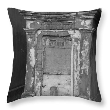 Throw Pillow featuring the photograph Grave I by Beth Vincent