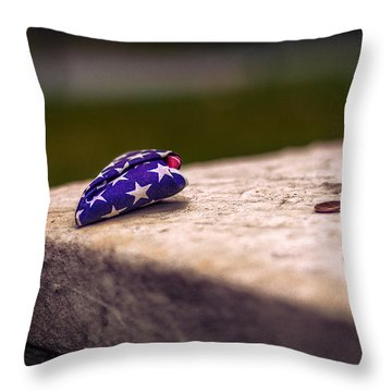 Gravesite Of Paul Revere Throw Pillow by Tom Gort