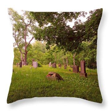 Graveyard 3 Throw Pillow
