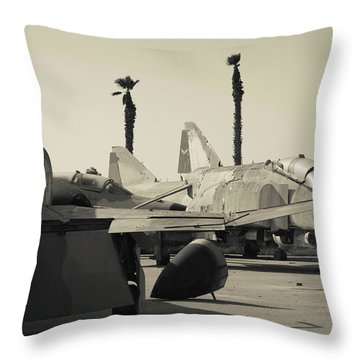 Airplane Graveyard Throw Pillows | Fine Art America