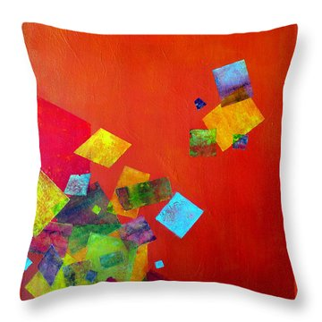 Gravity Is Only A Theory Throw Pillow by Jim Whalen