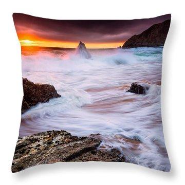 Half Moon Bay Throw Pillows