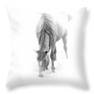 Grazing Throw Pillow by John Stuart Webbstock