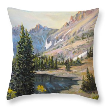 Great Basin Nevada Throw Pillow by Donna Tucker