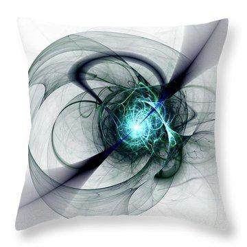 Great Collapse Throw Pillow by Anastasiya Malakhova