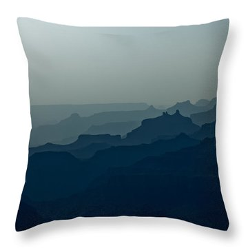 Great Crevice Throw Pillow