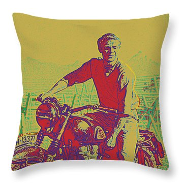 Great Escape Throw Pillow by Gary Grayson