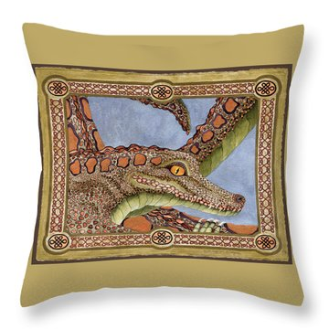 Great Grandmother Combped Throw Pillow