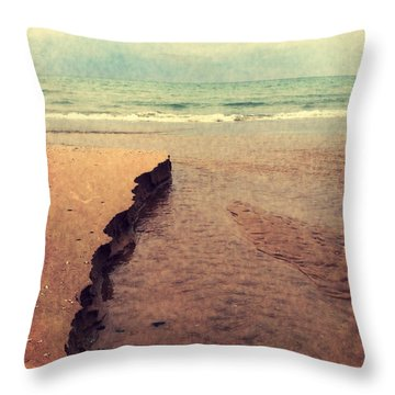 Great Lakes Great Times Throw Pillow by Michelle Calkins