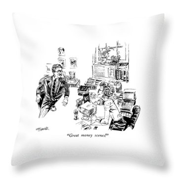 Great Money Scenes! Throw Pillow