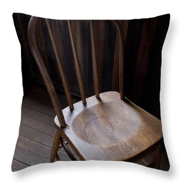 Great Old Chair Throw Pillow