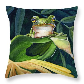 Great Pose Throw Pillow