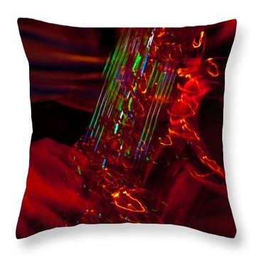 Throw Pillow featuring the photograph Great Sax by Alex Lapidus