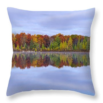 Jewett Lake Throw Pillow