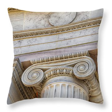 Greek Theatre 6 Throw Pillow by Angelina Vick