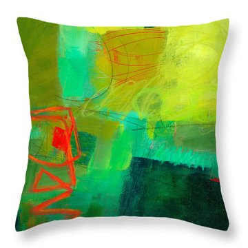 Green And Red #1 Throw Pillow