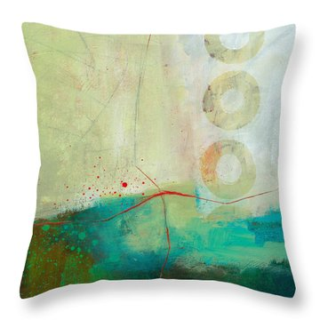 Green And Red 2 Throw Pillow