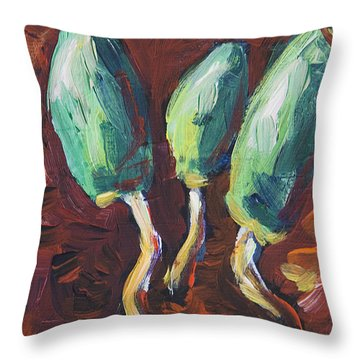Silly Slime'n Throw Pillow