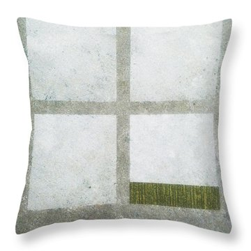 Green Painting 1 Throw Pillow
