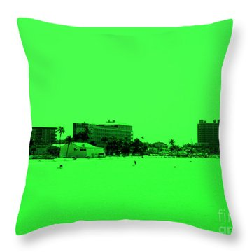 Green View. Special... Throw Pillow