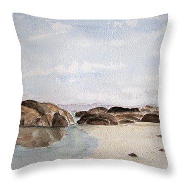 Greens Pool Western Australia Throw Pillow