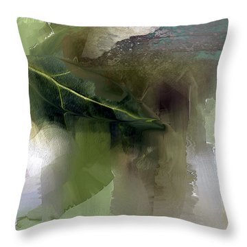 Greensleeves Throw Pillow