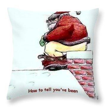 Greeting Card-2 Throw Pillow