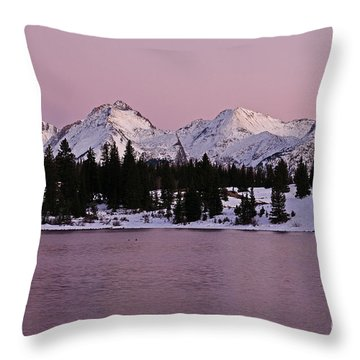 Grenadier Range Peace Throw Pillow