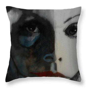 Greta Garbo Throw Pillow