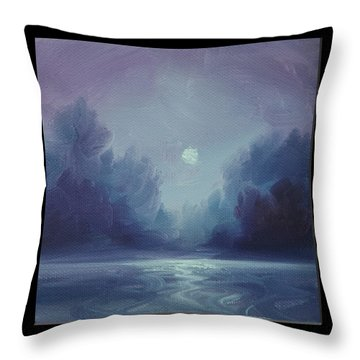 Grey Fire V Throw Pillow by James Christopher Hill
