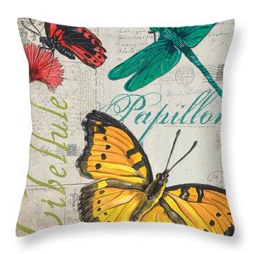 Dragonflies Throw Pillows