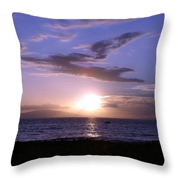 Greyhound In The Sky Throw Pillow