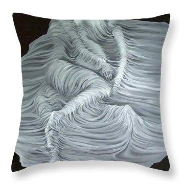 Greyish Revelation Throw Pillow