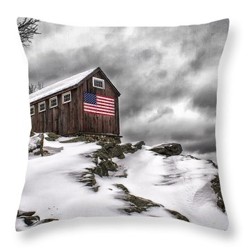 Greyledge Farm After The Storm Throw Pillow