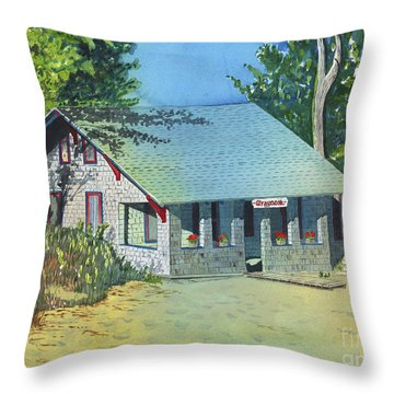 Graynook Throw Pillow