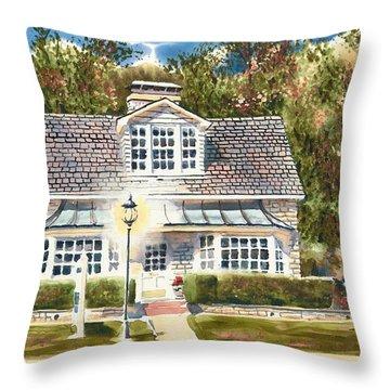 Greystone Inn II Throw Pillow